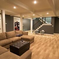 Affordable Renovations, Finished Basements & Construction