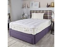 Bed - Woolroom Bed and Mattress deluxe 7000-single bed