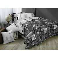 Complete duvet cover bedding set - double/queen