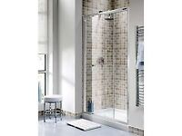 Shower Door and side panel for recess shower 900mm x 1950mm