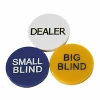 """Bouton 2 pouces """"Big ou Small Blind"""" Poker """"Big or Small Blind"""""""