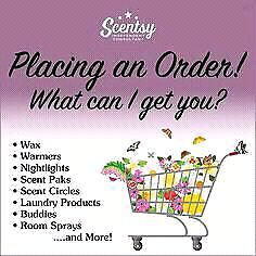 Scentsy order going in...