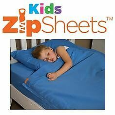 Own your own ecommerce business - Kids Zip Sheets UK selling zippered bed sheets for children