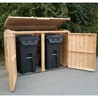 Custom Sheds, Garbage bin covers, Planters, Benches etc