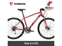 New Trek hybrid 8.4 ds in red