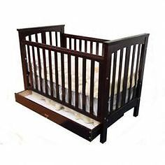 Beautiful 3 in 1 solid wooden cot & mattress