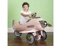 Airflow collectible pink fantasy flyer pedal plane