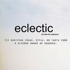 Rebecca's Eclectics