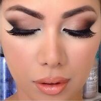 MAKE UP ARTIST HAIR AND LASH EXTENSIONS AT HOME 50$!!!