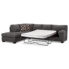 SECTIONAL SOFA WITH FULL-SIZE PULL OUT BED!