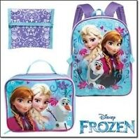 New In Package Frozen 3 Piece Backpack Set $25