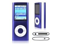 New 4th Gen 16GB MP3 MP4 Music Player Internal Memory 16GB