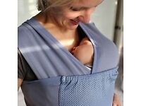 Blue close caboo baby carrier