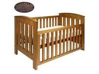 Boori classic cot bed teak & mattress