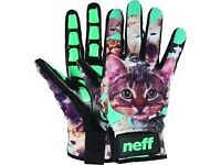 Neff snowboarding gloves