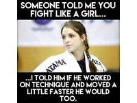 Ladies Ju Jitsu