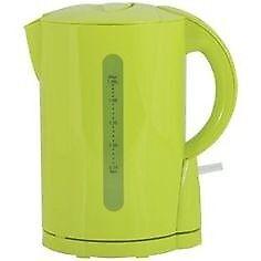 1.7 litre capacity ColourMatch Plastic Jug Kettle - Apple Green