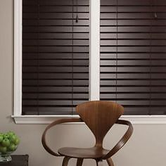 2 identical Like New Faux Wood Blinds in excellent condition