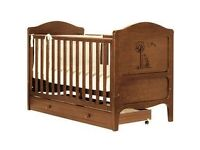 Winnie the pooh cot bed and crib