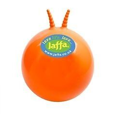 Official Jaffa Cake Space Hopper - Inflatable Blow Up Bouncing Toy