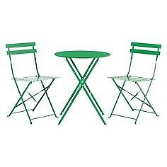 Habitat Parc 2 seats and table green