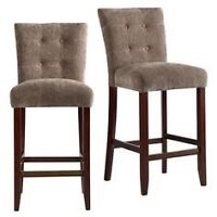Searching 2-3 island chairs with backs