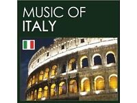 Italian musician singer / band needed for 29/08/2016