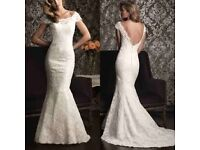 Allure 9000 Wedding dress- Ivory, £650