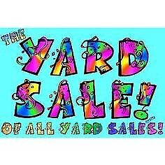 TWO Indoor Storage Unit Yard Sale Sunday November 17th