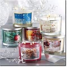 Avon 3 wick candles