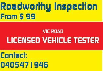 Cheap Roadworthy Inspection (RWC) from $99