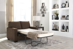 SHELBY TWIN MEMORY FOAM SOFA BED $1099- NO TAX- FREE DELIVERY