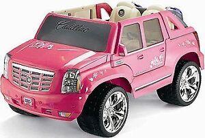 Barbie Cadillac Escalade Rose/Pink