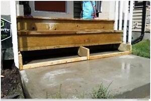 Elevated Mudjacking - Getting that sinking feeling -  Driveways, sidewalks & patio's