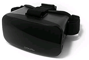 Cell phone virtual reality goggles