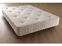Brand New 4ft 3/4 Small Double Quilted Ortho Comfort Mattress,tufted fabric FREE delivery