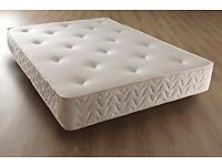 Brand New Quilted Comfy Double Orthopedic Spring Mattress FREE delivery