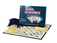 Super Scrabble Board Game - excellent condition