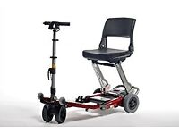Like New Luggie Standard Folding Mobility Scooter - Fully Serviced - 3 months Free Insurance