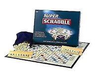 Super Scrabble Board Game
