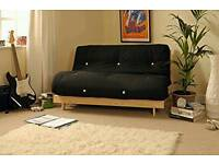 Futon double bed for guests
