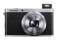 Fujifilm XF1 boxed mint condition with leather case