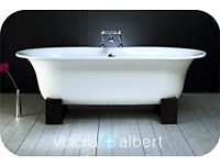 "Victoria & Albert ""Ella"" Quarrycast Freestanding Bath 1740mm x 800mm"
