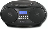 Insignia CD Boombox with AM/FM Tuner - Black-New in box