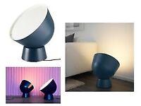 Blue Ikea floor light