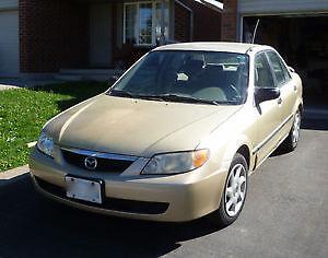 2001 Mazda Protege L 2.0 Sedan