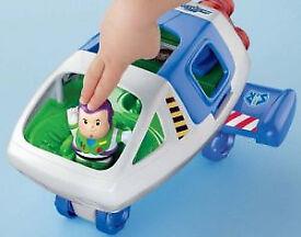 Little People® Disney•Pixar Toy Story Buzz Lightyear & Space Ship