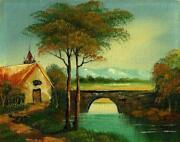 Old Vintage Oil Painting