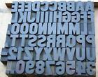 Letterpress Printing Type