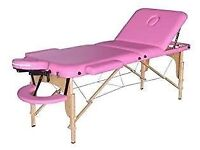 Pink beauty massage bed/table
